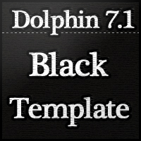 Black Template Dolphin 7.1